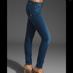 MOTHER the looker skinny stretch in stardust 24